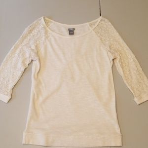 Aerie 3/4 length top XS